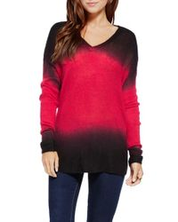 Two By Vince Camuto | Multicolor Dip Dye Pullover Sweater | Lyst