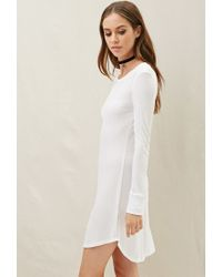 Forever 21 | White Nytt Charlotte Split Slim Dress | Lyst