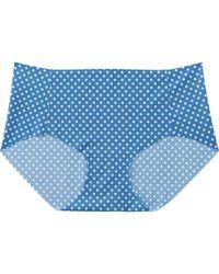 Uniqlo - Blue Women Ultra Seamless Shorts (hiphugger) - Lyst