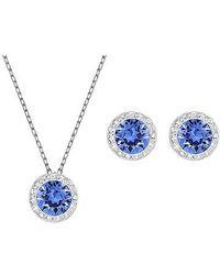 Swarovski | Blue Angelic Set | Lyst