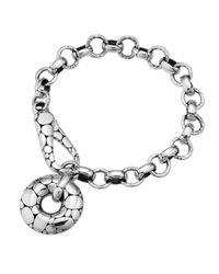 John Hardy - Metallic Kali Circlecharm Link Bracelet - Lyst