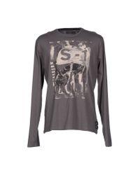 GAUDI - Gray T-shirt for Men - Lyst