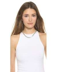 House of Harlow 1960 - Blue Reversible Ascension Collar Necklace - Turquoise - Lyst