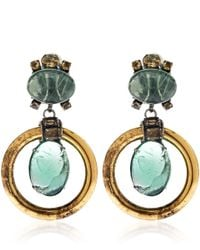 Iradj Moini - Green Fluorite Loop Earrings - Lyst