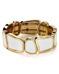 kate spade new york | White Play To The Gallery Stretch Bracelet | Lyst