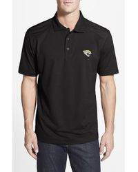 Cutter & Buck | Black 'jacksonville Jaguars - Genre' Drytec Moisture Wicking Polo for Men | Lyst