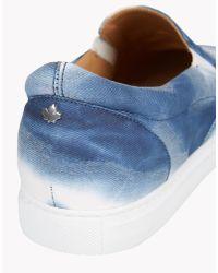 DSquared² | Blue Pop Tux Sneakers for Men | Lyst