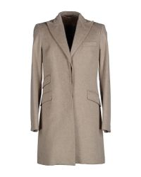 Brooksfield - Brown Coat for Men - Lyst