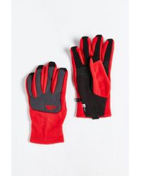 The North Face - Red Denali Etip Glove for Men - Lyst