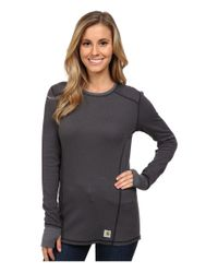 Carhartt | Black Base Force® Cold Weather Crew Neck Top | Lyst