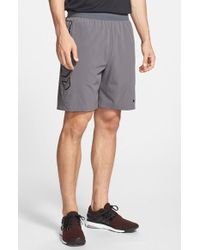 Nike | Gray 'vapor' Water Resistant Hydra Void Training Shorts for Men | Lyst