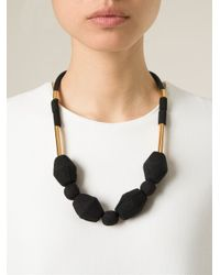 Marni | Black Adjustable Necklace | Lyst