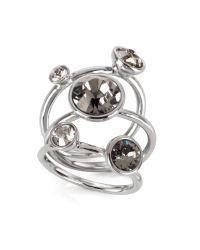 Ted Baker | Metallic Jewel Clustered Ring | Lyst