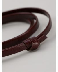 Miansai | Brown Large Hook Bracelet for Men | Lyst