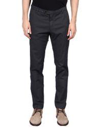 Tru Trussardi - Gray Casual Pants for Men - Lyst