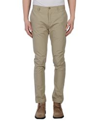 M. Grifoni Denim - Brown Casual Pants for Men - Lyst