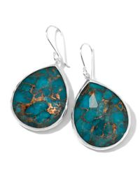 Ippolita | Green Wonderland Turquoise Teardrop Earrings | Lyst