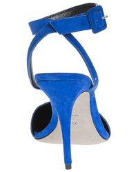 Alexander Wang - Blue Lovisa Suede Point Shoe - Lyst