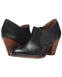 Jack Rogers | Black Kyle Leather Bootie | Lyst