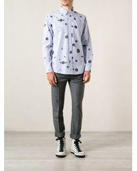 Soulland - Blue 'Nasa' Shirt for Men - Lyst