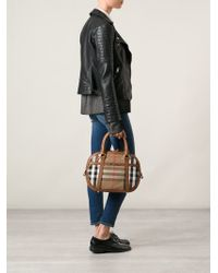 Burberry - Brown 'orchard' Tote - Lyst