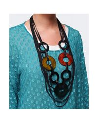 Jules B - Multicolor Bright Rope Necklace - Lyst