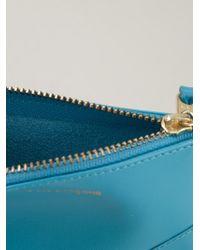 Comme des Garçons - Blue Comme Des Garçons Wallet Zipped Purse - Lyst