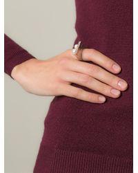 Bukkehave | Metallic 'pearly King' Ring | Lyst