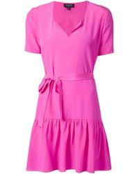 Saloni - Purple Isla Dress - Lyst