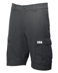 Helly Hansen | Black Jotun Qd 11-inch Cargo Shorts for Men | Lyst
