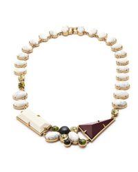 J.Crew - Multicolor Lulu Frost Geometric Shapes Necklace - Lyst