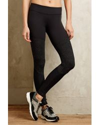 Beyond Yoga | Black Triptych Leggings | Lyst