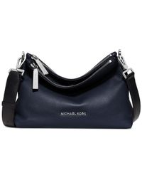 Michael Kors | Blue Michael Jane Medium Messenger Bag | Lyst