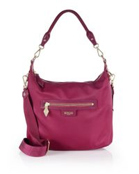 MZ Wallace - Pink Capri Nylon Crossbody Bag - Lyst