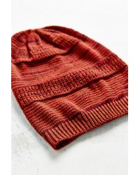 BDG - Brown Mix-stitch Lightweight Beanie - Lyst