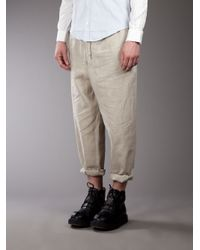 Casely-Hayford   Natural Roll Up Trousers for Men   Lyst