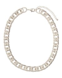 H&M - Metallic Chain Necklace - Lyst