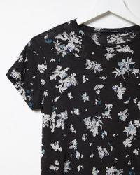 Proenza Schouler - Black Short Sleeve T-shirt - Lyst