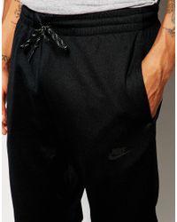 Nike | Black Skinny Joggers 687557-010 for Men | Lyst