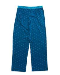 Original Penguin - Blue Paisley Pajama Pants for Men - Lyst