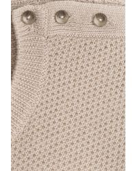 A.P.C. - Natural Merino Wool Pullover - Beige - Lyst