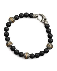 Stephen Webster - Black Onyx Bracelet for Men - Lyst
