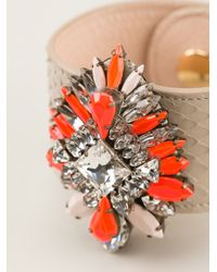 Shourouk | Orange 'comet' Cuff | Lyst