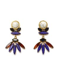 Lizzie Fortunato | Blue Casa Azul Earrings | Lyst