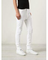 Julius | White Slim Trousers for Men | Lyst