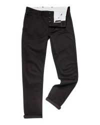 G-Star RAW | Black Bronson Slim Fit Signature Chino for Men | Lyst
