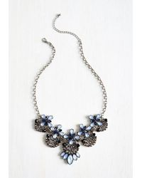 Ana Accessories Inc - Blue Hit The Town Stunning Necklace In Dew - Lyst