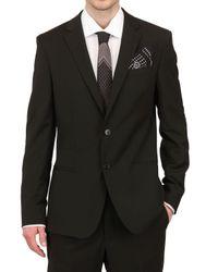 Dolce & Gabbana | Black Stretch Wool Blend Suit for Men | Lyst