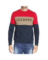 Iceberg | Blue Sweater for Men | Lyst