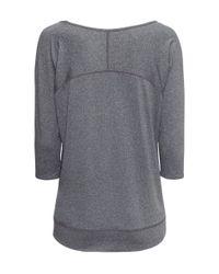 H&M | Gray Yoga Top | Lyst